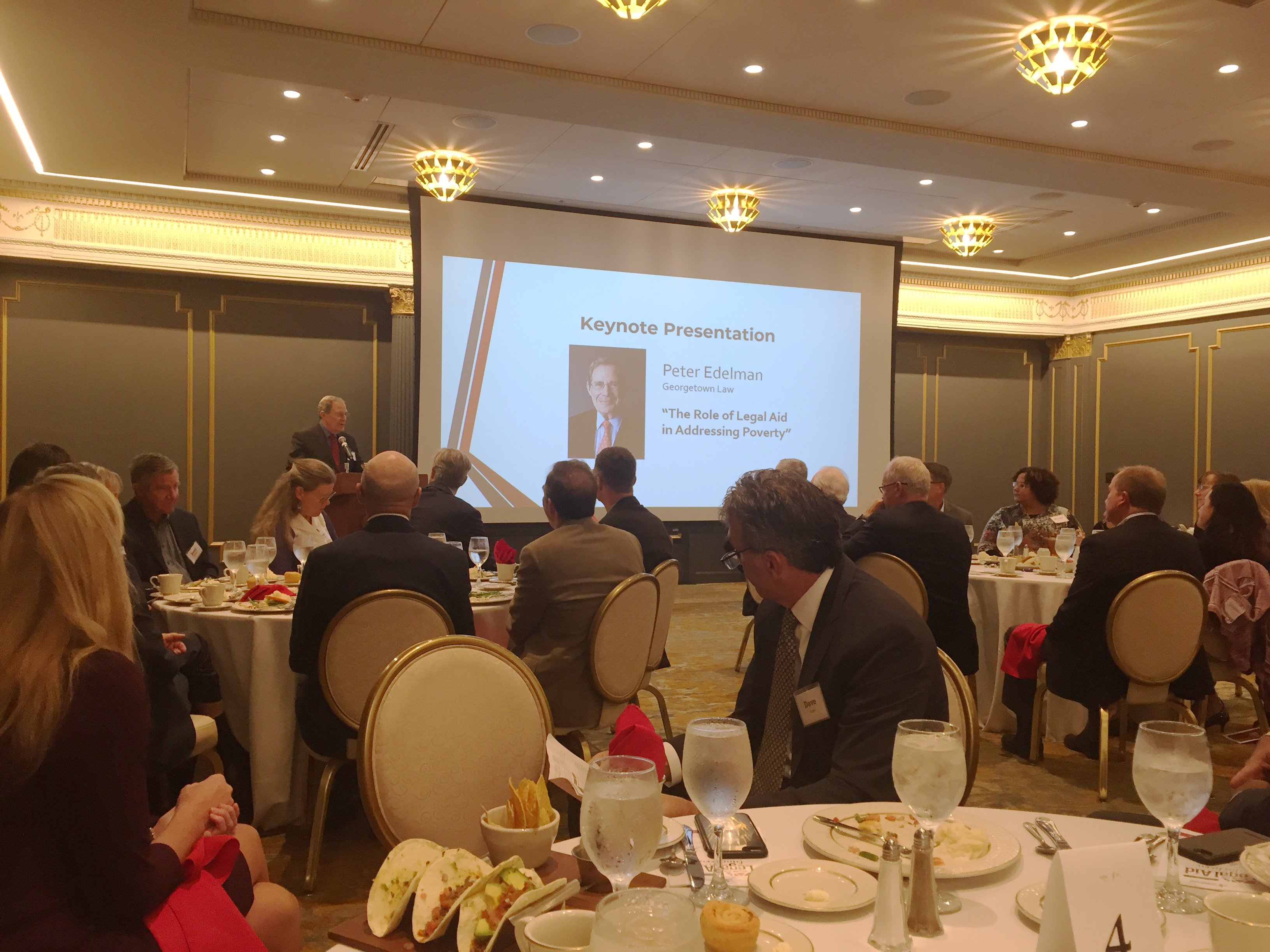 The inaugural Friends of Legal Aid Awards Luncheon was held Sept. 12, 2019, at Happy Hollow Country Club in Omaha. (Courtesy Legal Aid of Nebraska)