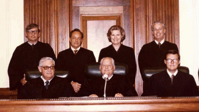 Judge Susan H. Black is shown at her 1979 investiture in the Middle District of Florida. (Courtesy Susan Black via U.S. Courts)